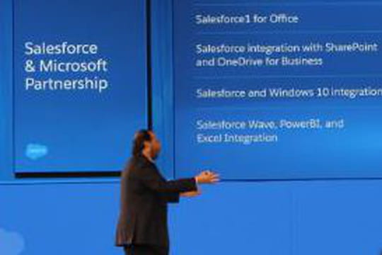 Le partenariat entre Salesforce et Microsoft prend de l'ampleur