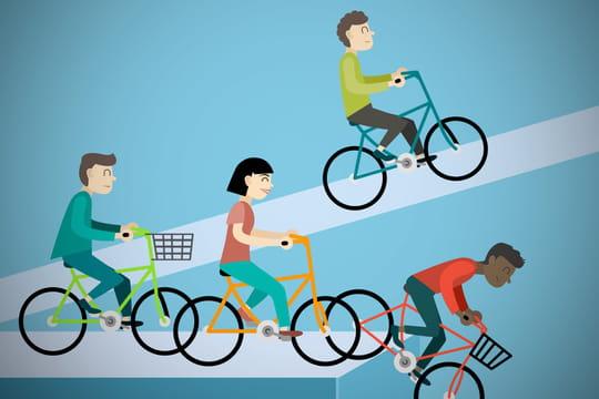 Vélos partagés: qui parviendra jusqu'à la ligne d'arrivée?