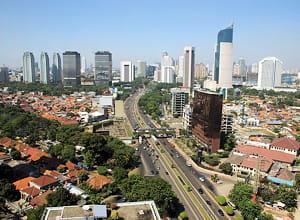 la capitale indonésienne compte près de 9 millions d'habitants.