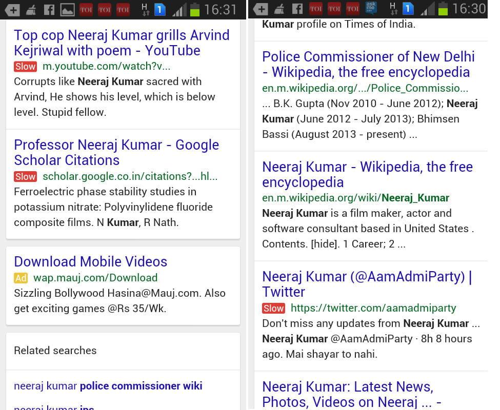3 tests que réalise actuellement Google dans ses résultats