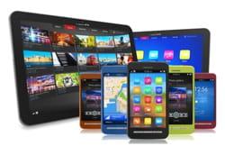 au sein du groupe volvo, les terminaux personnels de type tablette et smartphone