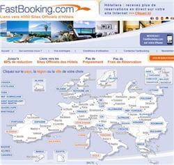fastbooking, acteur français de la réservation d'hôtels en ligne.