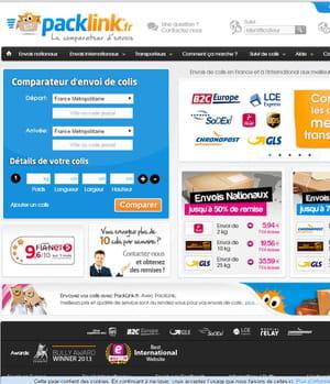 packlink compare les prix d'envois de colis.