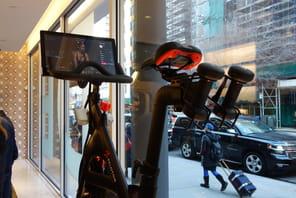 Comment la boutique-studio de Peloton dépoussière le vélo d'appartement