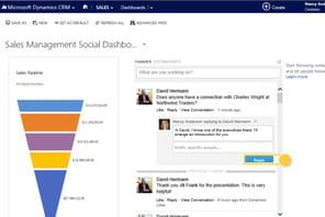 Dynamics CRM Online 2014sur la rampe de lancement face à Salesforce