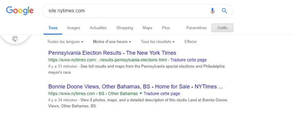Mercredi 22 mai : Google a arrêté d'indexer le web