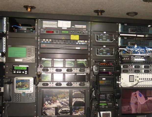 L'intérieur des Network Emergency Response Vehicles