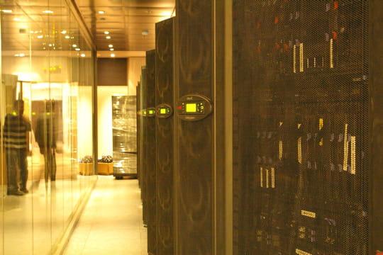 Des baies IBM