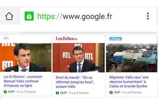 Google AMP : les premiers retours du Parisien, des Echos et de RTL