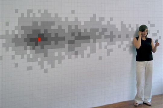 Papier peint Pixelnotes