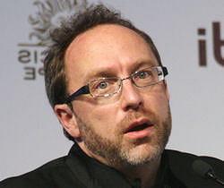 jimmy wales, co-fondateur de wikipedia.
