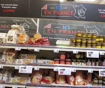 pour trouver du pâté français, il ne faut donc plus se rendre au rayon pâté mais
