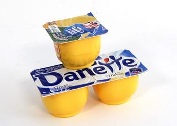 un euro = trois danettes à la vanille