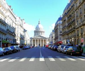 le panthéon, dans le 5e arrondissement.