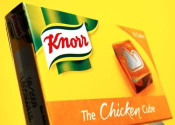 les consommateurs achètent en moyenne 5,9 fois des produitsknorr par an.