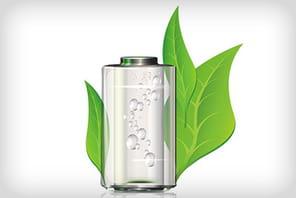 Des piles écologiques et rechargeables qui fonctionnent à l'eau