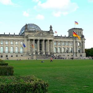 le palais du reichstag, à berlin.