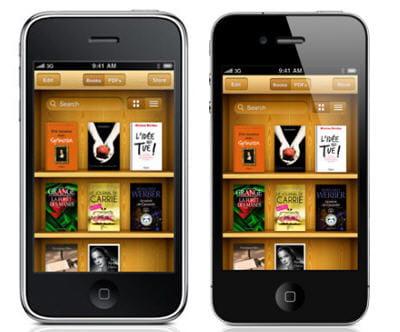 l'iphone 3gs à gauche, l'iphone 4 à droite