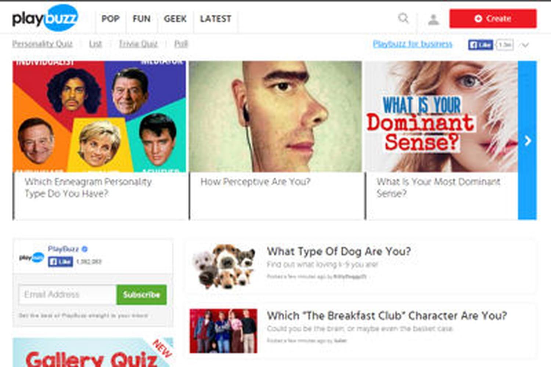 Playbuzz, l'éditeur qui fait de l'ombre à Buzzfeed, lève 16millions de dollars