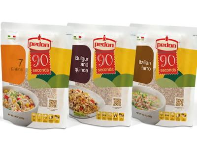 les plats aux céréales '90secondes' de pedon.