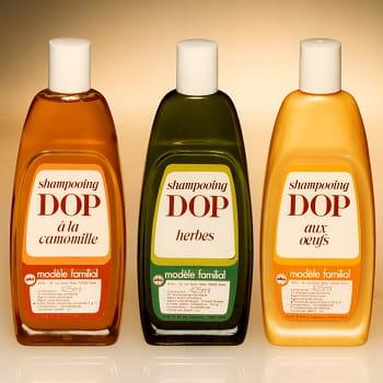 le shampooing dop de 1970.