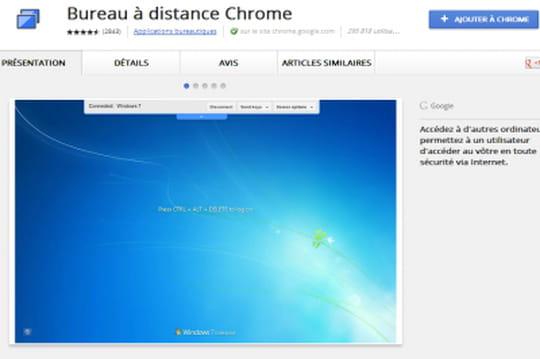 Une extension Chrome pour accéder à des terminaux à distance