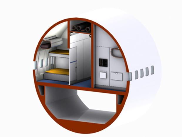 Une disposition des chambres soigneusement étudiée