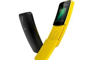 Avec son nouveau 8110, Nokia donne dans la nostalgie au MWC 2018