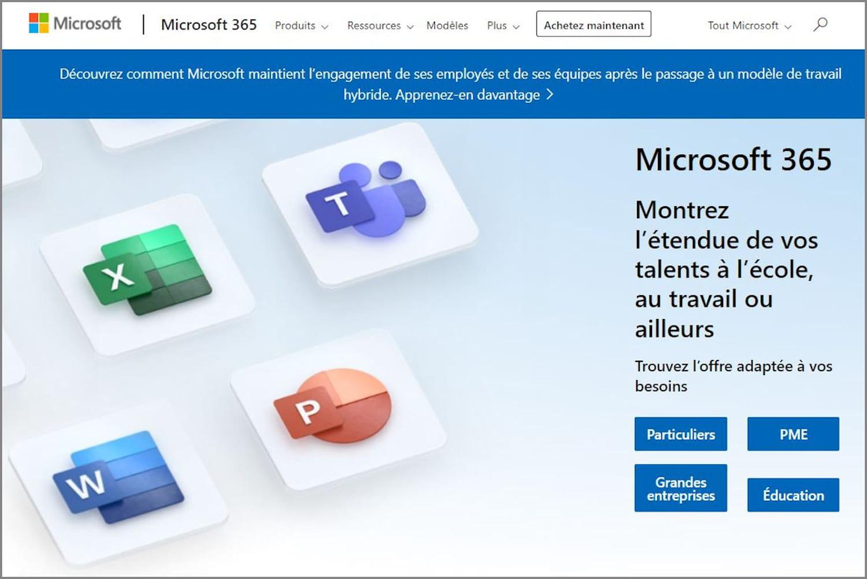 Microsoft365(ex-Office-365): du gratuit au payant