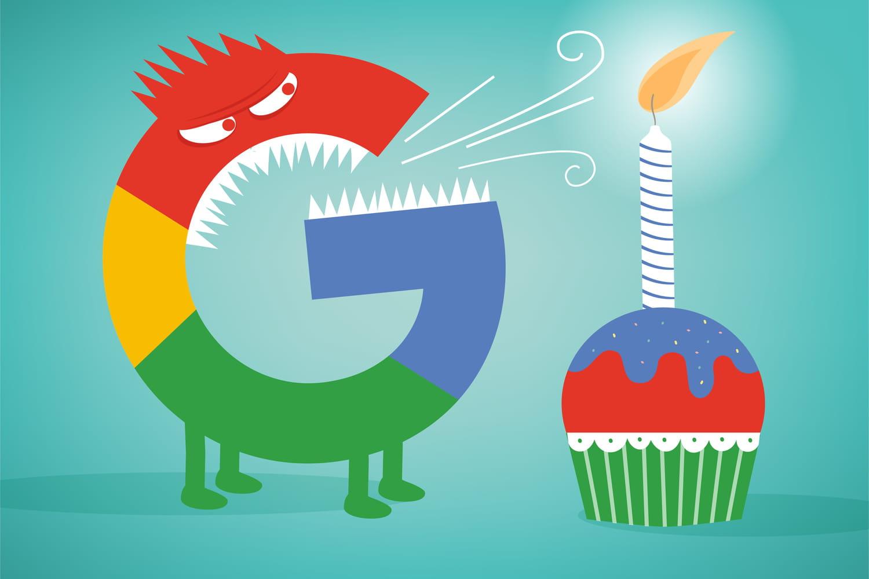 Google a 20ans… et beaucoup de dents