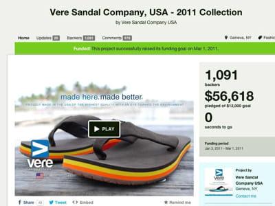 vere sandals
