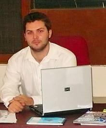 kevin muller a créé e-nova technologies, une entreprise qui développe des