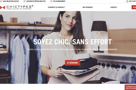 ChicTypes, le personal shopper pour hommes, lève 4 millions d'euros