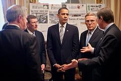l'écoute active est une des techniques employées par le président des etats-unis