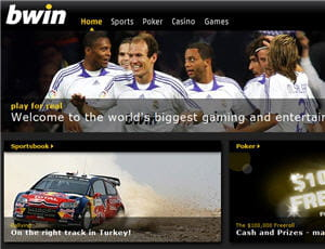 bwin, sponsor du football européeen