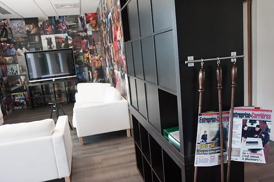 Evergreen : espaces lounge
