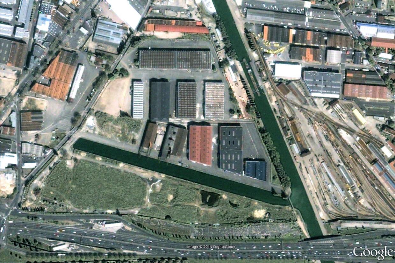 Le site d 39 un futur centre commercial aubervilliers en - Porte d aubervilliers centre commercial ...