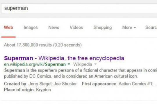 """De nouveaux """"extraits structurés"""" dans les résultats de Google"""