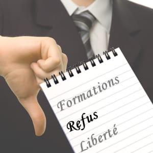 votre employeur n'est pas obligé d'accepter votre demande.