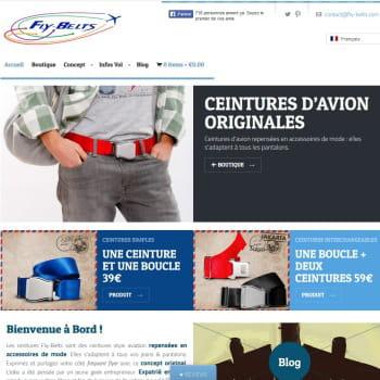 fly-belts : des ceintures d'avion repensées en accessoires