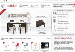 myfab.com, l'achat groupé avec fabrication à la demande.