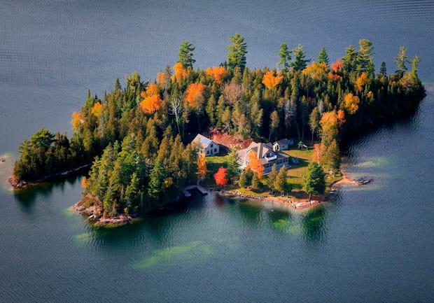 Ile de la Baie Bertrand, Canada