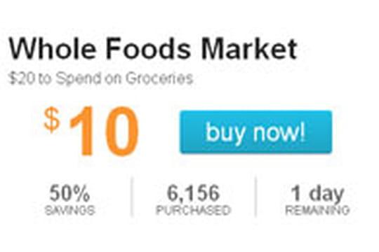 LivingSocial lance des deals avec un géant de l'alimentation biologique