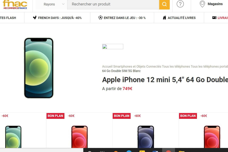 iPhone 12: des fortes promotions chez la Fnac et Amazon