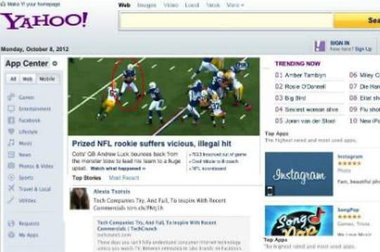 Yahoo s'apprête à lancer sa nouvelle page d'accueil