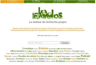 moteur de recherche ekoolos