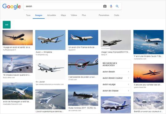 Bientôt un Google Images desktop inspiré du mobile?