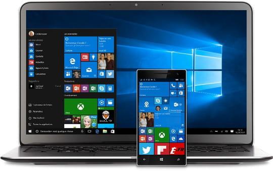 Les parts de marché de Windows10 progressent peu