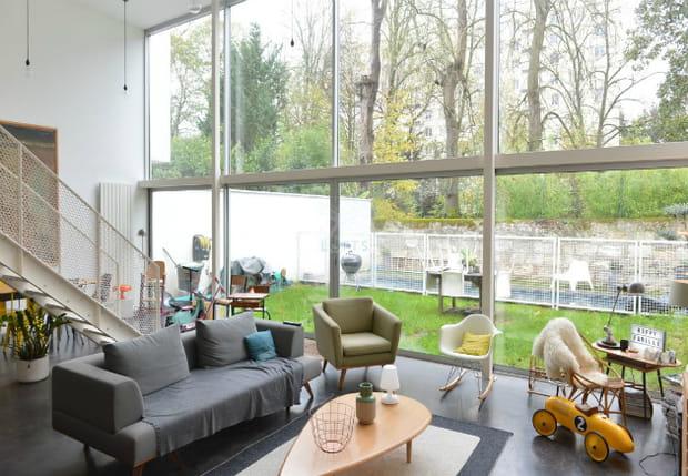 Une maison d'architecte à Bordeaux