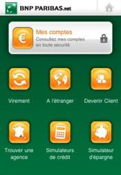 l'application de gestion de comptes de bnp paribas intègre essentiellement des